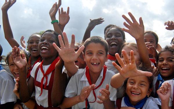 Los niños: Prioridad de los cubanos